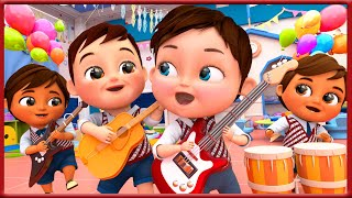 I'm A Music man  , Dance With me Song , Music Kids Song  + More Nursery Rhymes - Banana Cartoon