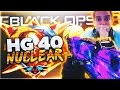 """HG 40 NUCLEAR"" GAMEPLAY! Black Ops 3 ""DARK MATTER HG 40 NUCLEAR"" Gameplay - NEW BEST SMG?! (BO3)"