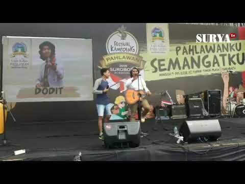 DODIT KOCOK PERUT BIKIN SAKIT #Festival Kampoeng Pahlawan 2018