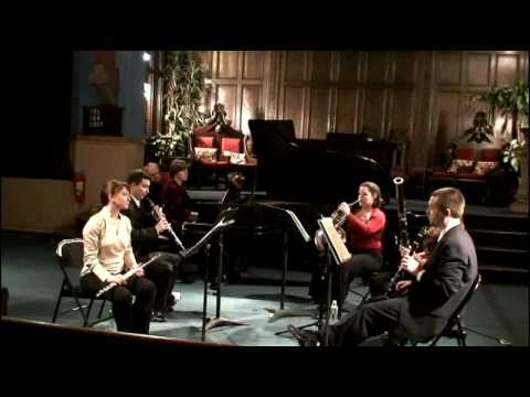 Dolce Suono Chamber Music Concert Series - Poulenc Sextet movement 1