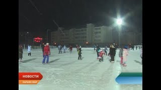 Старый новый год жители округа встретили на льду
