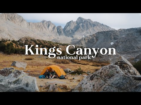 Two COLD Nights in Kings Canyon National Park | Backpacking Bishop Pass Trail