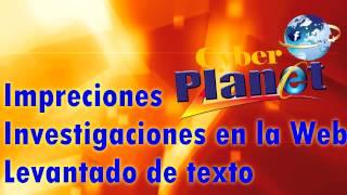 Alexander Agustín ## Cyber Planet ##