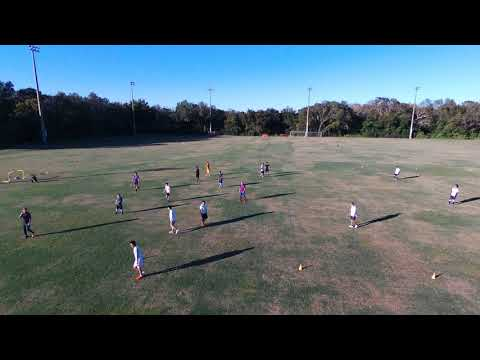 USF Tampa Chinese Soccer Pickup Game on 12/10/2017 shot by Drone - Part 2