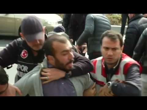 Dozens arrested at May Day protest in Istanbul