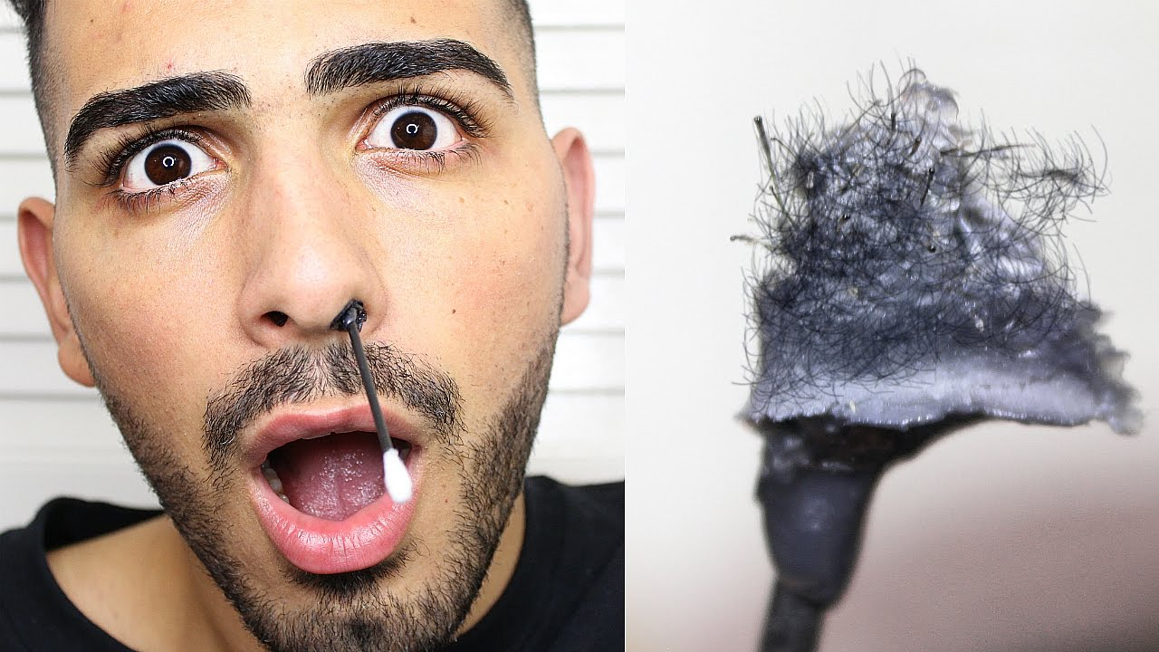 How To Wax Your Nose Hairs At Home Nostril Waxing Youtube