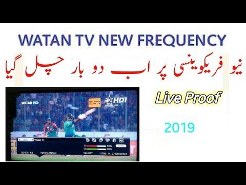 Watan Tv new frequency - cinemapichollu
