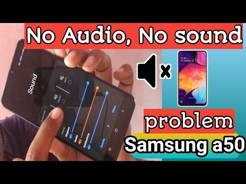 Samsung A50 Problem No Media Volume,No Sound,no Audio Problem Found In A50