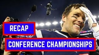 NFL Conference Championship 2018 Recap and Reactions | NFL Playoffs 2018