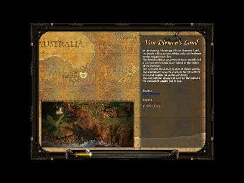 Van Diemen's Land   Age of Empires 3   Wars of Liberty   part I