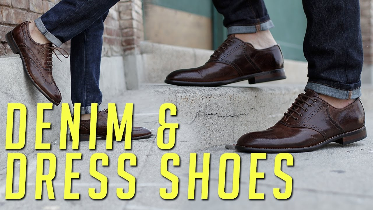 save up to 80% timeless design pre order How to Wear Dress Shoes and Denim || Men's Fashion Lookbook || Gent's Lounge