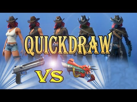 Quickdraw Calamity Best Pistol Setup Fortnite Save The World - Abilities - Skins - Evolutions