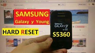 видео Как снять графический пароль на Samsung Galaxy Young (GT-5360)