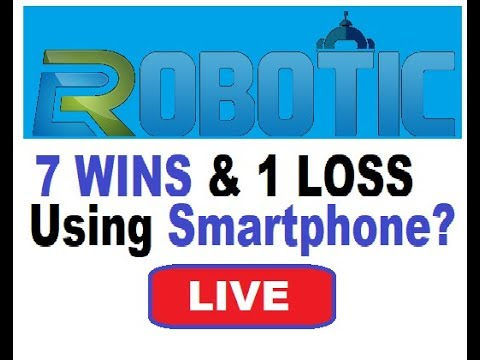 TAI ROBOTICS (CRAZY 7 WINS & 1 Loss) Using Smartphone?