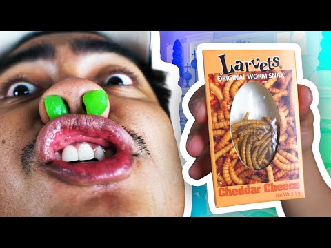 Trying Out WEIRD Snacks!