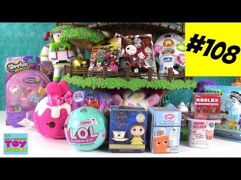 Blind Bag Treehouse #108 Unboxing Disney Trolls Shopkins Num Noms | PSToyReviews