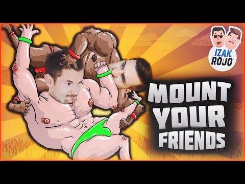SALTO ROJSONA!   IZAK & ROJO w Mount Your Friends !!!