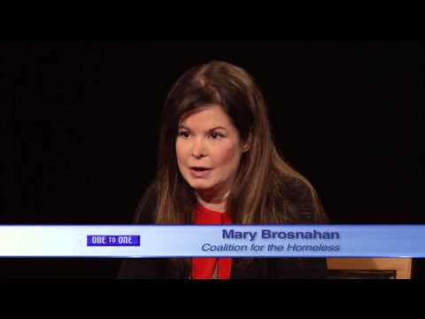 One to One: Mary Brosnahan - Coalition for the Homeless