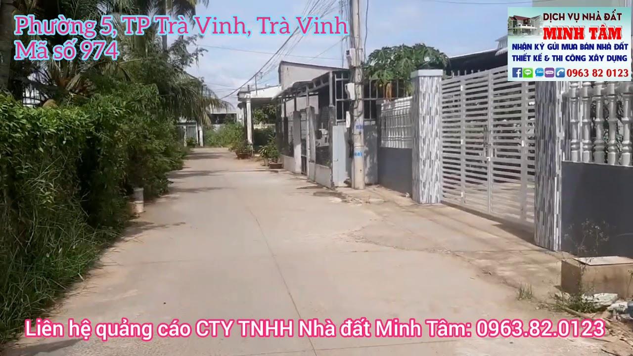 MS 974 || Bán đất nền 5x25m, giá 450 triệu ở Phường 5, TP Trà Vinh, Trà Vinh