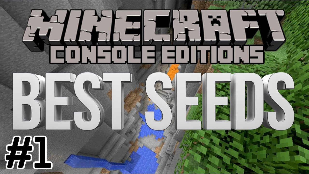 Minecraft Best Seeds 1 For Xbox 360 PS3 Xbox One