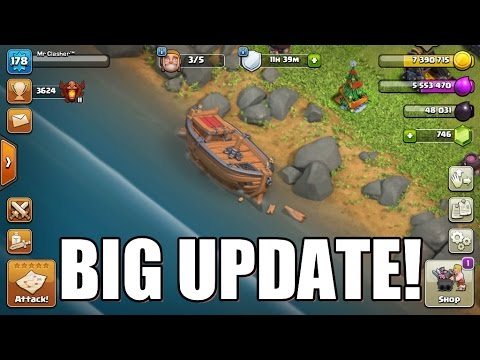 Clash of Clans - NEW MASSIVE BOAT UPDATE COMING SOON ...