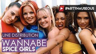 Spice Girls - Wannabe // Line Distribution