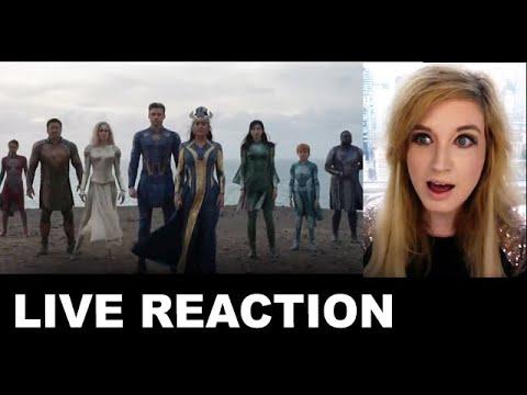 Eternals Trailer REACTION - Marvel 2021