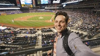 New York Mets MLB Baseball Game at Citi Field. 2017 Video
