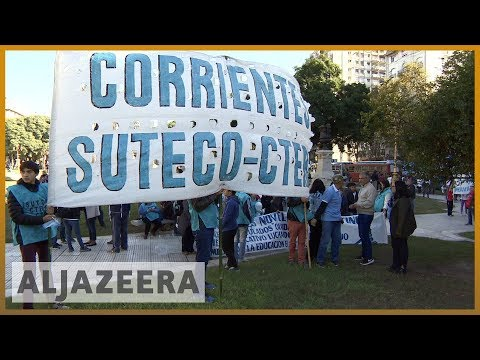 🇦🇷 Argentina economy: Workers protest as inflation soars | Al Jazeera English