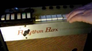 Denon rhythm box crb 90