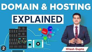What is Domain aฑd Hosting in Hindi | Domain Hosting Kya Hota Hai | Hosting Tutorial for Beginners