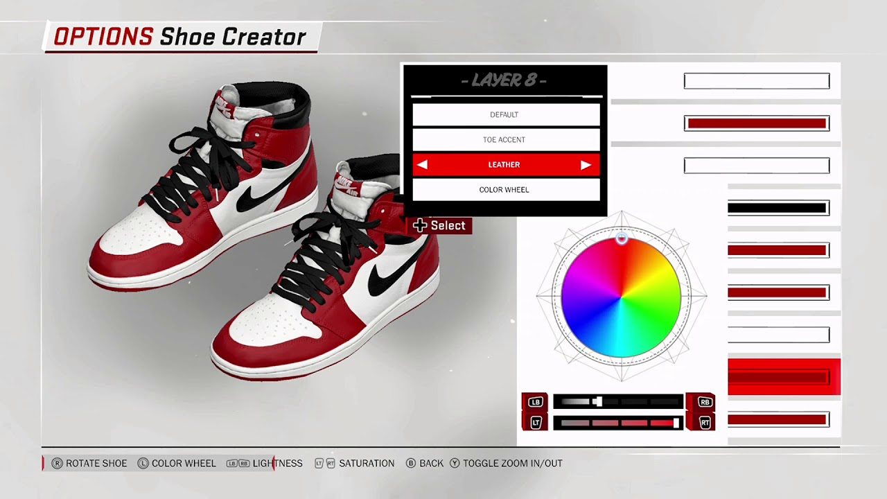 NBA 2K18 Shoe Creator Air Jordan 1 Chicago