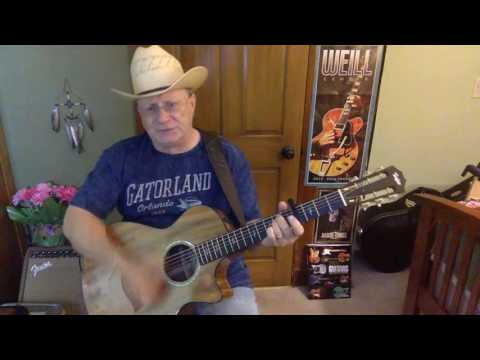 2124  - No Words -  Cody Jinks vocal & acoustic guitar cover & chords