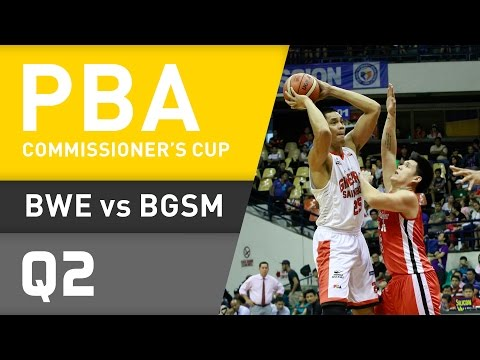 BLACKWATER VS. GINEBRA - Q2 | Commissioner
