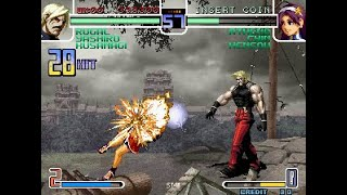 The King Of Fighters 2002 - Rugal Arcade (TAS)