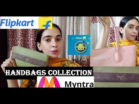 Flipkart/Myntra/Amazon Handbags Haul | LINO PERROS | #BAGGITWALLET | ONLINE SHOPPING REVIEW ❤ ❤ ❤