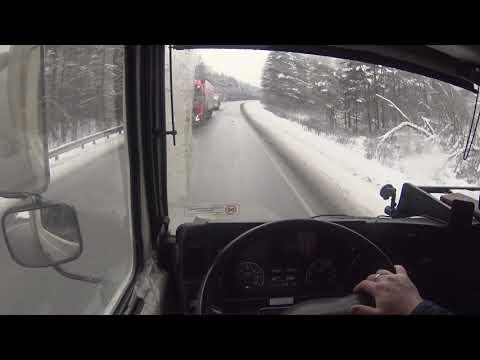 Маз 4371 Зубренок, Уральские горы, поломка