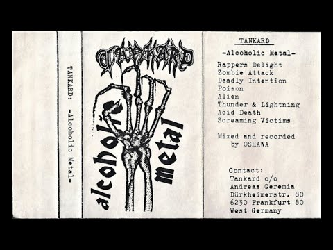Tankard (Germany) - Alcoholic Metal (Demo) 1985 mp3