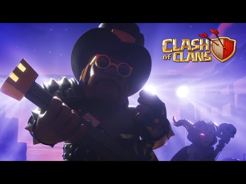 Rock On Party King! (Clash of Clans 8th Anniversary)