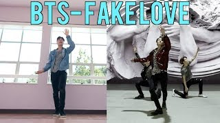 i attempted to learn BTS FAKE LOVE (Dance Cover) in a Day