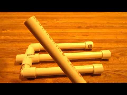 How to Make a Trident from PVC Pipe