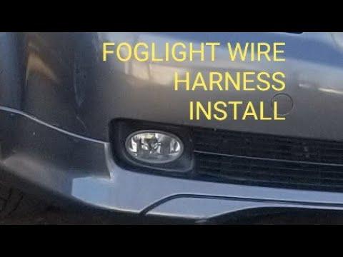 2004 2005 2006 Acura Tl Honda Oem Accord Foglight Wire Harness Tutorial Youtube