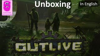 Unboxing, Outlive Collector Edition Kickstarter (In English, board game)