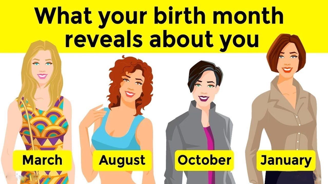 What Your Birth Month Reveals About You Youtube