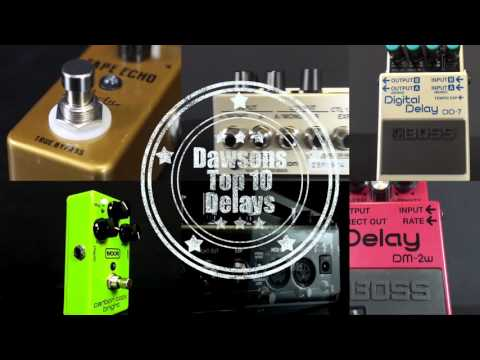 Top 10 Delay Pedals for all budgets