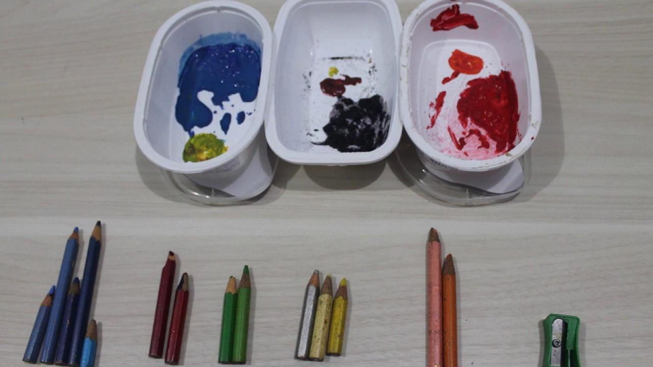 Como criar suas próprias tintas em casa.