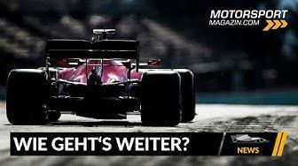 Wie geht es mit der F1 jetzt weiter? - Formel 1 2020 (News)