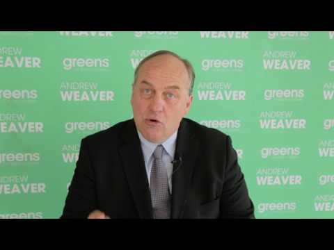 Andrew Weaver (BC Green Party) – Economy and Environment