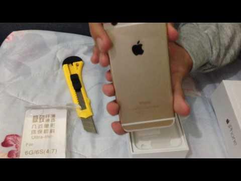 IPhone 6 Dourado ORIGINAL (Refurbished)  Aliexpress (UNBOXING)