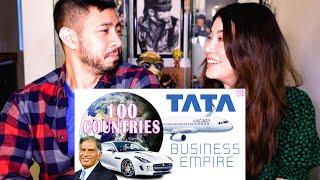 TATA'S BUSINESS EMPIRE (100 COUNTRIES)   Ratan Tata   How Big is Tata?   Reaction   Jaby Koay